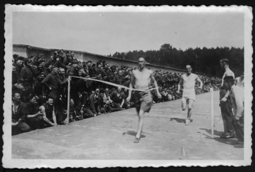 Running races at Stalag